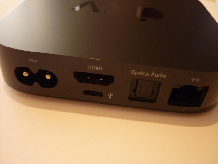 Apple TV Rück groß