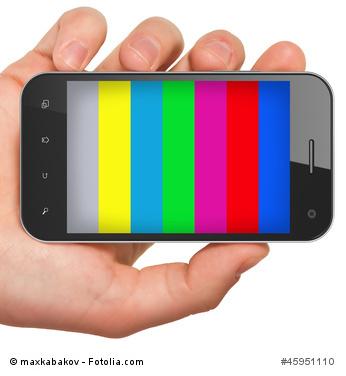 TV auf dem Smartphone schauen